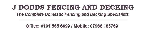 J Dodds Fencing and Decking